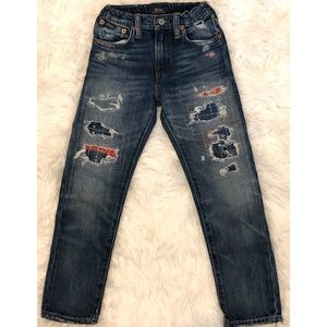 POLO RALPH LAUREN Boys Distressed Jeans